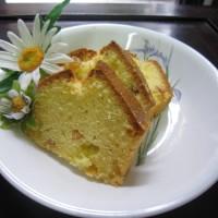 Pound Cake with Raisins :)