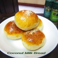 Coconut Milk Bread <3