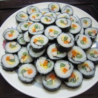 Korean Gimbap (Kimbab)