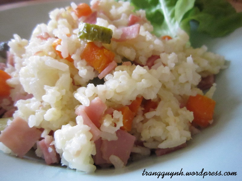 Ham fried rice 3
