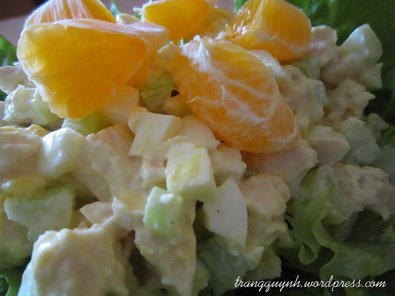 Nutty orange chicken salad 3