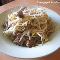 Stir-fried Bean Sprouts with Beef