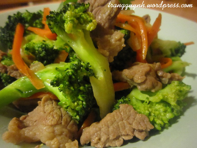 Beef and broccoli stir-fry 3