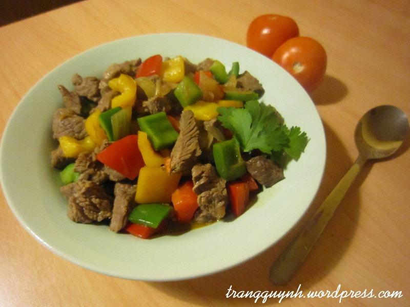 Bo Luc Lac (Vietnamese Shaking Beef)   Trang Quynh