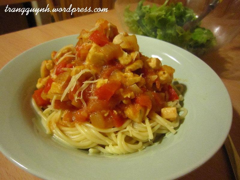 Chicken spaghetti 2