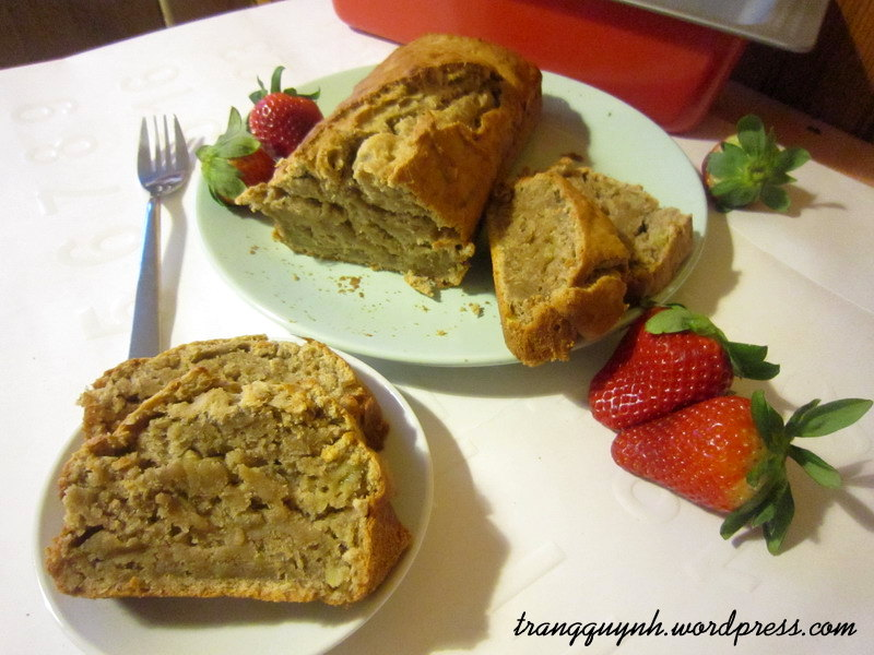 Banana quick bread 2