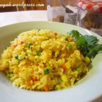 Curried Prawn Fried Rice
