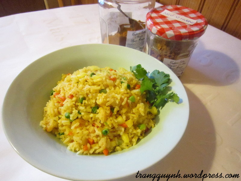 Curried fried rice 2
