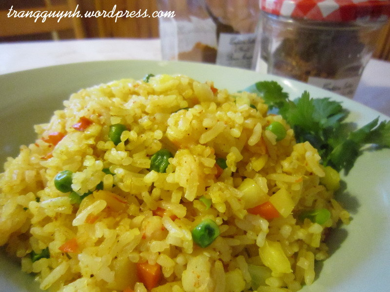 Curried fried rice 3
