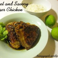Sweet and Savory Ginger Chicken
