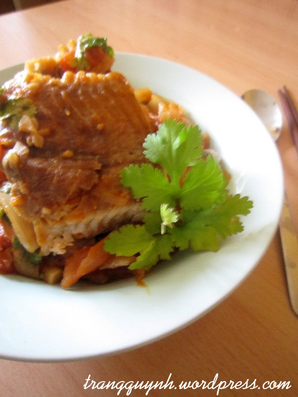 Sweet and sour fish 2