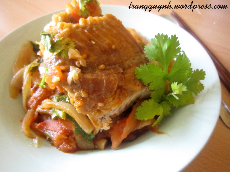 Sweet and sour fish 4