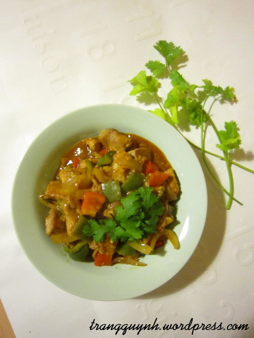 Sweet and sour pork 2