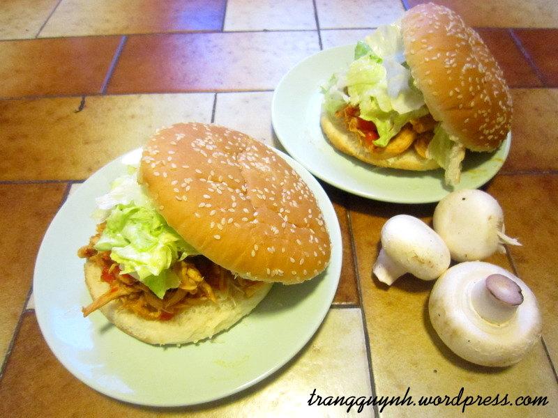 Chicken sandwich 1