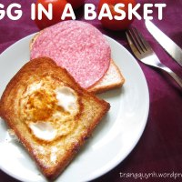 Cheesy and Flavorful Egg In A Basket ;)