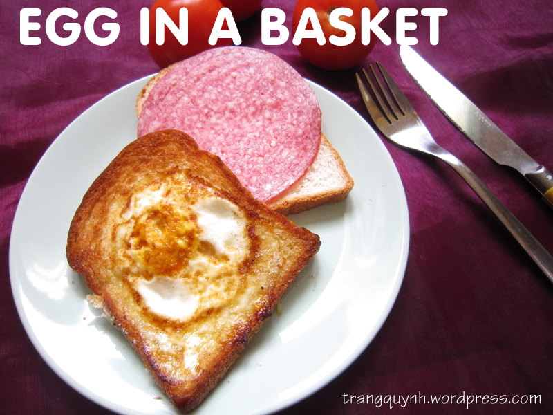 Egg in a basket 1