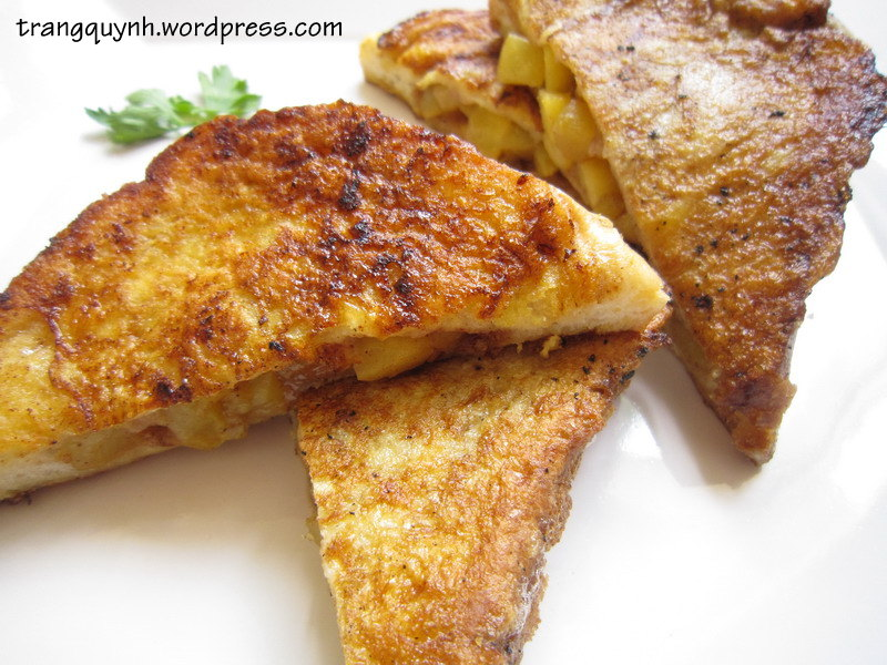 Peach french toast 3