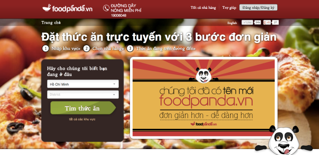 Foodpanda.vn-Screenshot