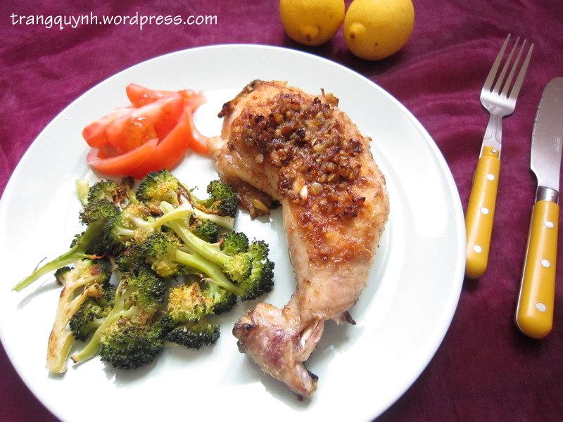 Lemon garlic chicken 1