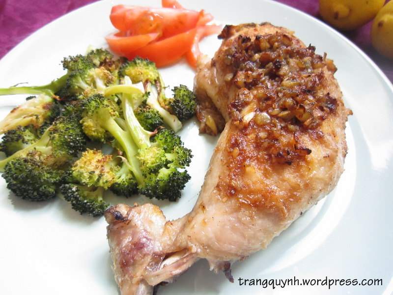 Lemon garlic chicken3