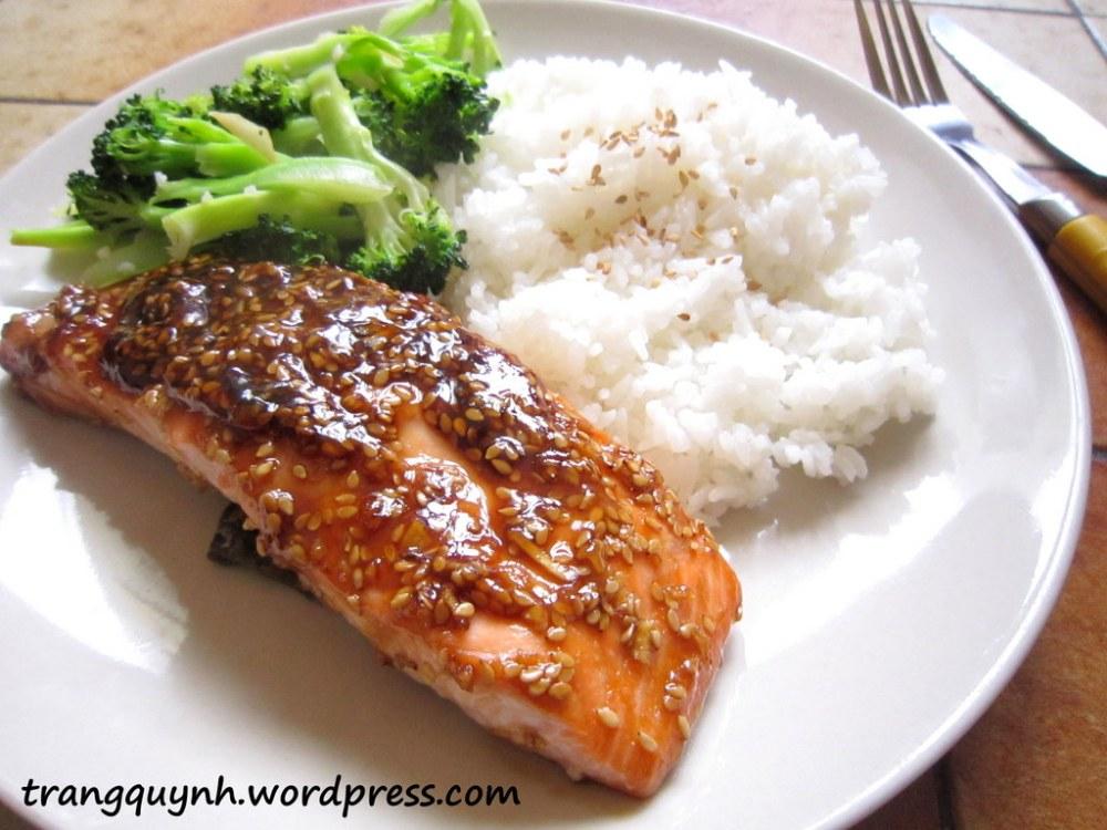 Sesame salmon 2