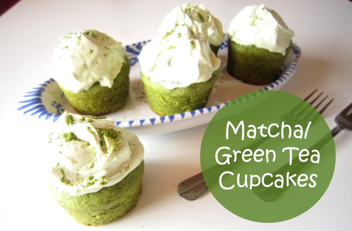 Matcha/Green Tea Cupcakes